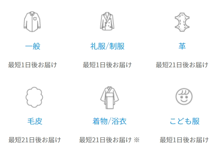 リネット 対応衣類