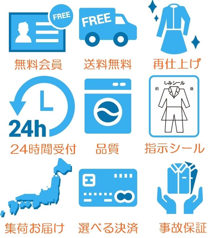 クリーニング東京 無料サービスと品質保証