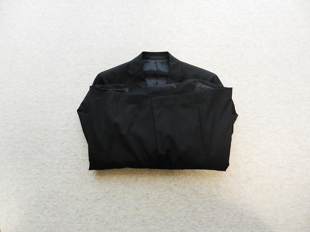 ジャケット スラックス たたみ方 折り込み