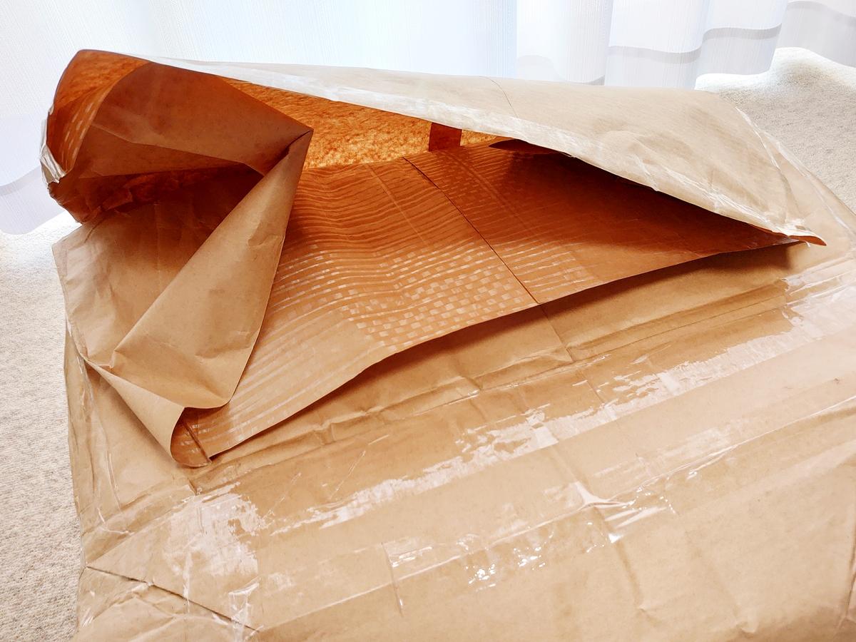 クリーニングモンスター 布団の宅配クリーニング 掛け布団 こたつ布団 クリーニング後の配送袋3